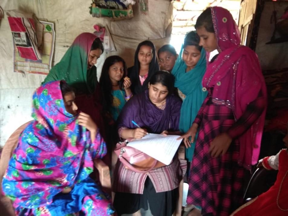 Workshop on Menstrual Health & Hygiene