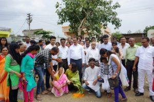 BURRY THE WORRY (A Tree Plantation Campaign)